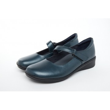 1722 Barani Leather Pumps/Mary Janes