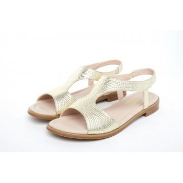 313 Caratti Leather Sandals (T-strap)