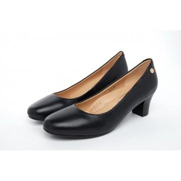 6011 Barani Classic Leather Heels (Mid)